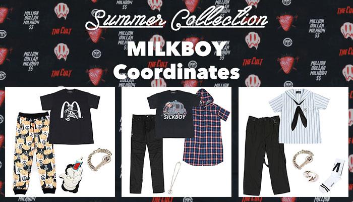 MILKBOY 2018 SUMMER COLLECTION スタッフおすすめコーディネート💙