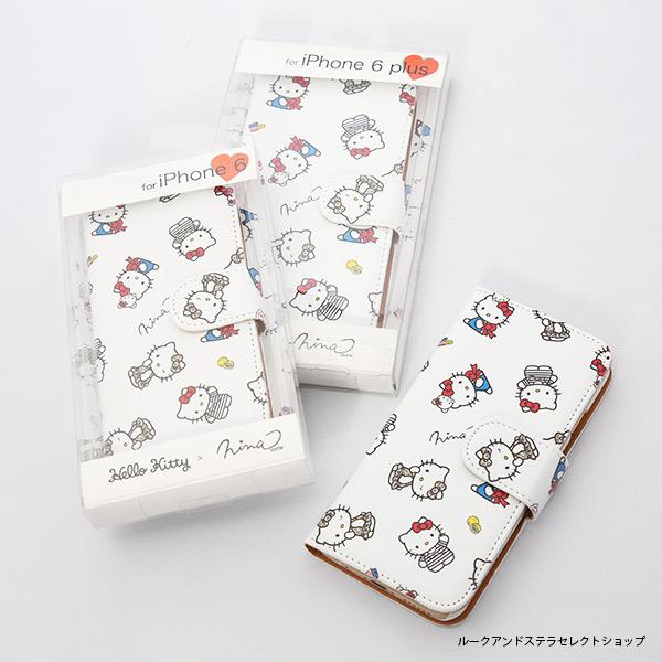 NinamewからHello Kitty柄のIphone6ケース発売!